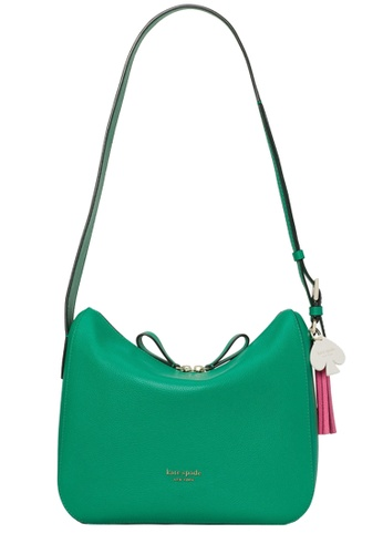 KATE SPADE green Kate Spade Anyday Medium Shoulder Bag in Raw Yucca Multi AAA30ACD3D1E8FGS_1