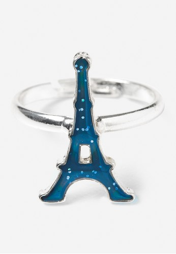 Justice multi Justice Girls Eiffel Tower Mood Ring CF606KC3F3146CGS_1
