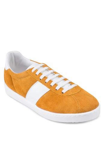 雙色繫帶運動鞋, 女鞋esprit服飾, 鞋