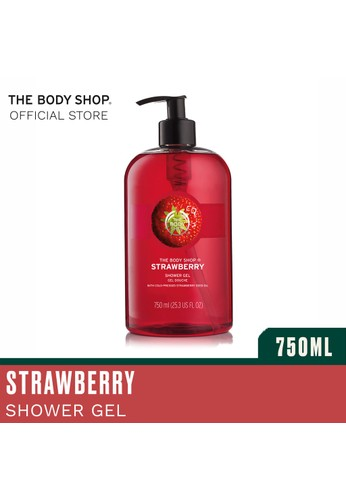 The Body Shop n/a Strawberry Shower Gel 750Ml 9CC7CESD3574D9GS_1