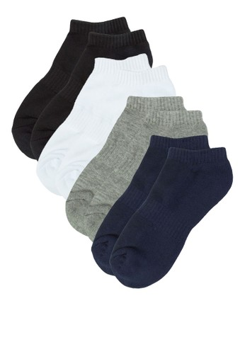 四入基本esprit鞋子款踝襪, 服飾, 男性服飾