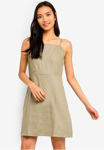 Cotton On green Woven Krissy Dress A4614AADB62CB2GS_1