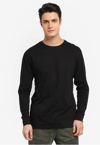 Cotton On black TBar Long Sleeve T-Shirt 21B52AA664BF43GS_1