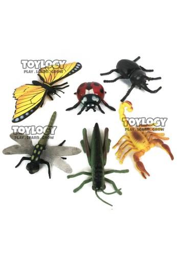 Toylogy multi Mainan Anak Binatang Insect Serangga Capung Kupu-Kupu Belalang Kumbang 304B3TH2D0F3CDGS_1