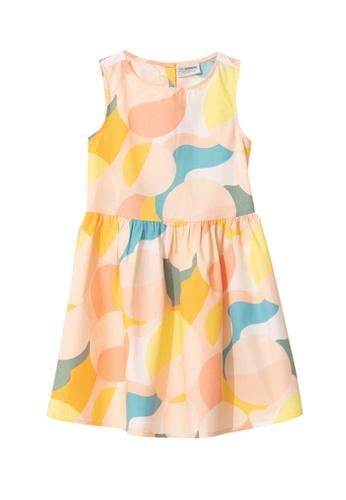 LC Waikiki beige Figured Poplin Dress 90C2BKA8E1DC48GS_1