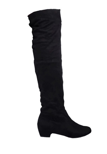 457480254b5 Low Heel Over Knee Boot VB618