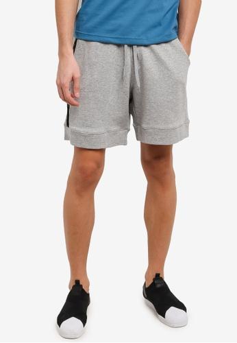 Marc & Giselle grey Jogger Shorts MA188AA0RTK7MY_1