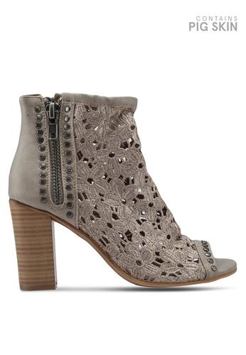VANESSA WU brown Bitha Heels 0096FSHD0C4665GS_1