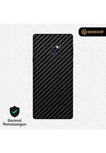Exacoat Galaxy Note 9 Skins Carbon Fiber Black - Cut Only 75A20ESDD2AAC2GS_1