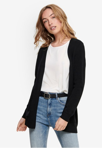 ONLY black Lesly Long Sleeve Open Cardigan A3C9CAA318DED8GS_1