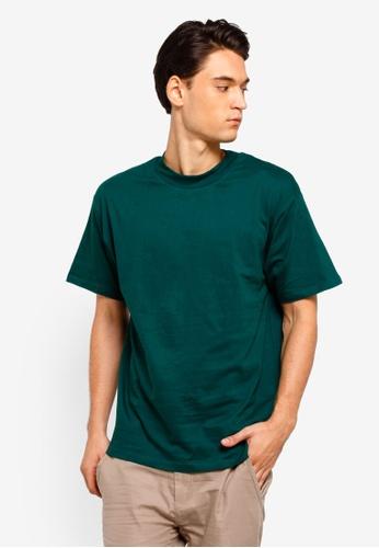 Factorie 綠色 短袖圓領T恤 061EDAAD72AACCGS_1