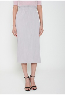 4623a7e425 As You Pleat Midi Skirt in Grey 2E260AACD9C596GS 1