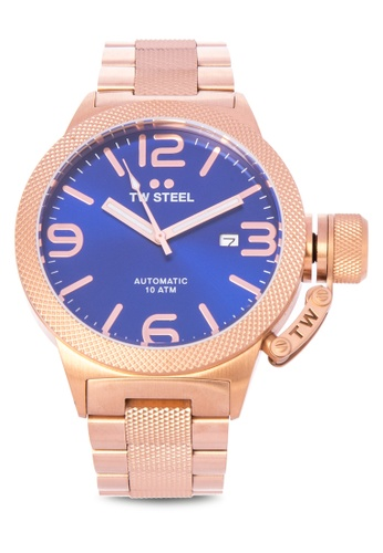 TW Steel gold CB185 Canteen Bracelet Analog Watch TW310AC0KMAGPH_1