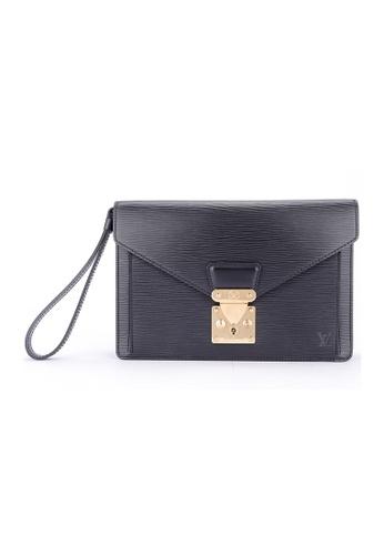 Louis Vuitton black Pre-loved Louis VuittonBlack Epi Leather Sellier Dragonne 5C269AC87F01D5GS_1