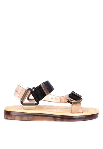 c43d00395abf Shop Melissa Papete Rider Ankle Strap Sandals Online on ZALORA Philippines