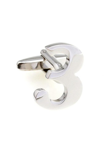 The Little Link Cufflinks silver Number 3 cufflinks TH089AC0FSVQSG_1