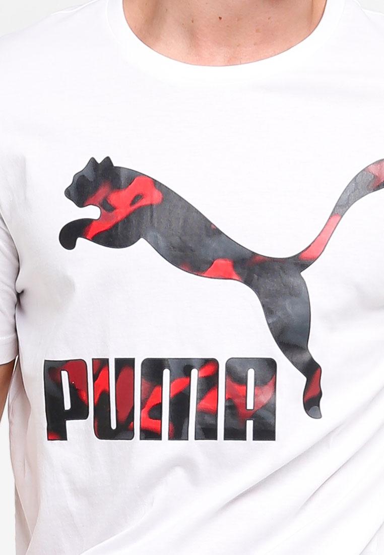 Puma Tee Logo Prime Classics Sportstyle White CI6qc