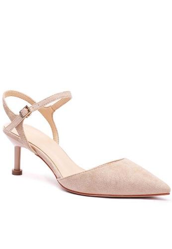 Twenty Eight Shoes 繞踝帶幼踭鞋196-30 EE638SH3CAA10FGS_1