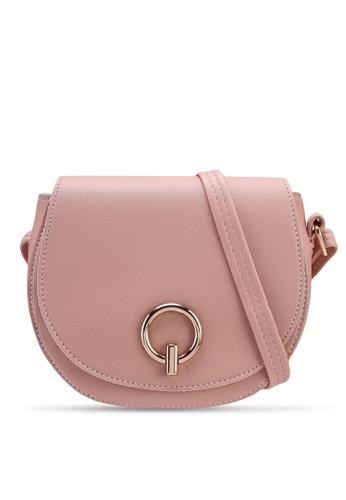 Verchini pink Mini Stylo Sling Bag 45521ACF453FD1GS_1
