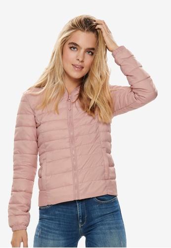 ONLY pink Tahoe Hood Jacket 762A4AAA2D089CGS_1