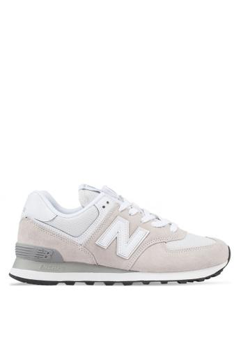 New Balance 白色 休閒運動鞋 18D26SHB4D23F1GS_1