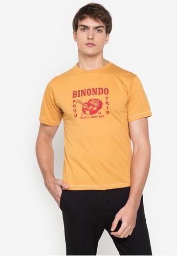Artwork yellow Binondo Manila T-Shirt 344C9AA6A0874AGS_1