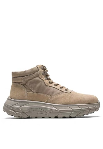 Twenty Eight Shoes High Top Suede Leather Sneakers XO-933 6E3C6SHDDE3EECGS_1