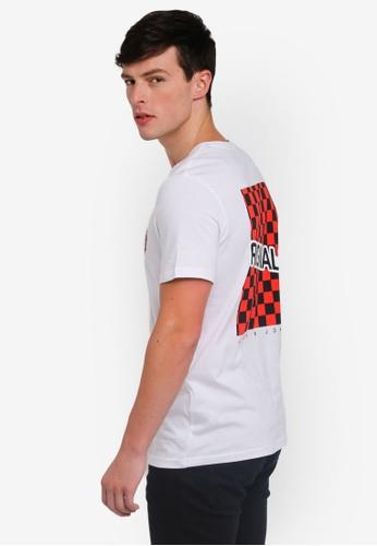 Jack & Jones 白色 格紋短袖T恤 7647FAA1A03D7DGS_1