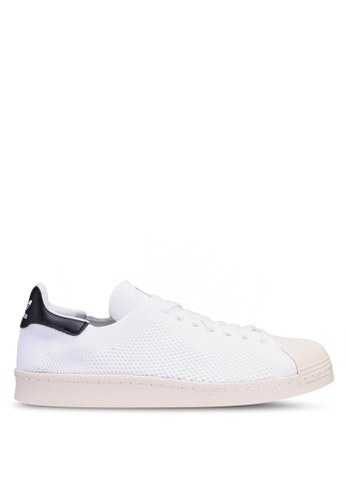 adidas white adidas originals superstar 80s pk AD678SHC5CF613GS_1