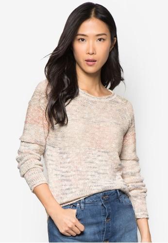 混色長袖衫, 服飾, esprit台灣網頁毛衣& 針織外套