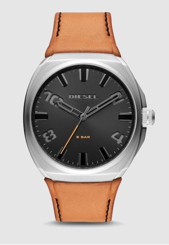 Diesel brown Stigg Analog Watch DZ1883 D56F6ACF6711C3GS_1