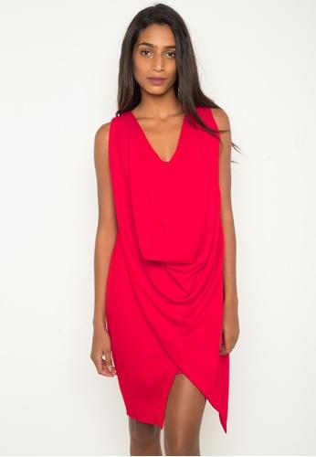 Madelaine Ongpauco Barlao red Penelope Dress MA508AA0JAQKPH_1