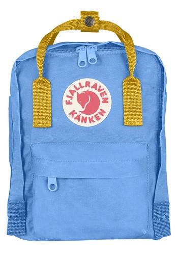 9407525341 Fjallraven Kanken blue Un Blue-Warm Yellow Kanken Mini Backpack  37234AC1A12E90GS 1