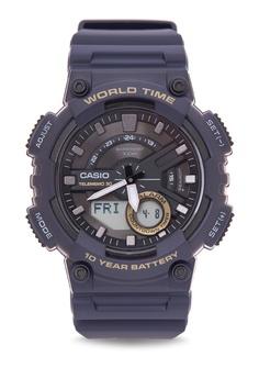 f99456f2220 Casio blue Ana-digi Watch AEQ-110W-2AVDF CA076AC69XACPH 1