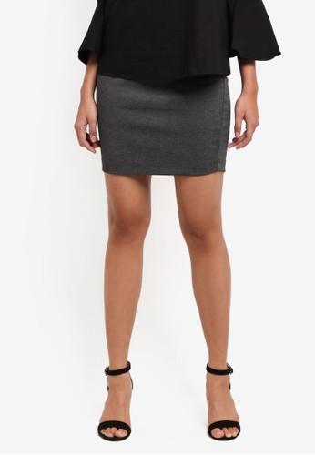 Cotton On black Poppy Pull On Mini Skirt 453C2AAEE0BE72GS_1