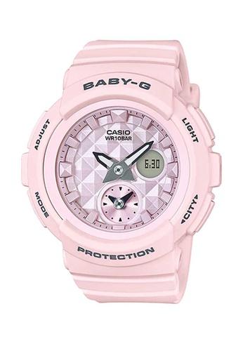 CASIO pink Casio Baby-G Pink Resin Watch 23FBDAC3BD07D2GS_1