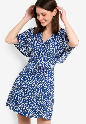 d566d55f2101 Buy ZALORA Wrap Dress Online on ZALORA Singapore