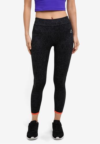 AVIVA black and orange Long Pants AV679AA0S9FQMY_1