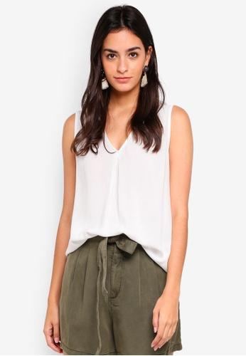 9c94b25388c451 Buy Vero Moda Eva Sleeveless Top Online on ZALORA Singapore