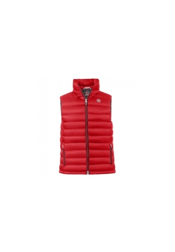 ARCTICA red YOUTH CLASSIC DOWN VEST 37705KA257F145GS_1