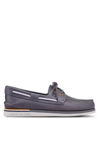 Sperry grey Authentic Original 2-Eye Nautical Boat Shoes 8CA87SHA6631FCGS_1