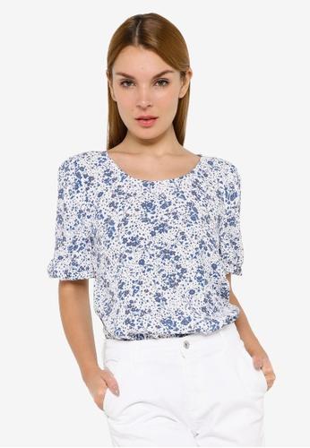 JACQUELINE DE YONG white Gaia Long Sleeve Shirt CCEF0AA5705A24GS_1