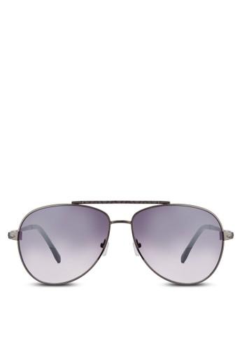 飛行zalora開箱員太陽眼鏡, 飾品配件, 飛行員框