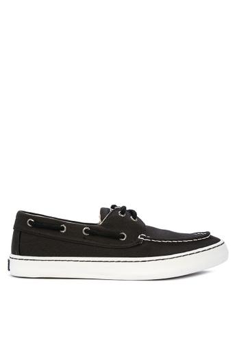 Sperry black Cutter 2-Eye Sneakers 1ABEASHE620A9EGS_1