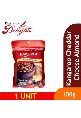 Prestigio Delights Kangaroo Cheddar Cheese Almond 100g A1F0CES2393D5DGS_1