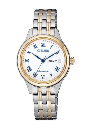 CITIZEN silver Citizen Gold and Silver Stainless Steel Watch 3BD29ACE0B20A6GS_1