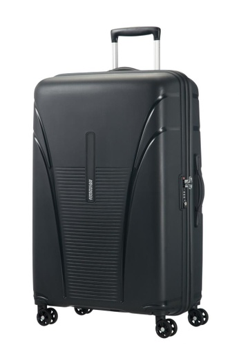 American Tourister black American Tourister Skytracer Spinner 77/28 AM536AC28IITSG_1