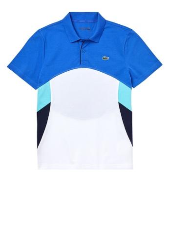 Lacoste blue SPORT Colorblock Side Panel Tennis Polo Shirt F42BCAAC039A03GS_1