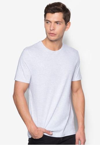 Topman 灰色 Grey Marl Slim Fit T-Shirt TO250AA92NXZSG_1