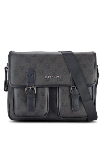 Playboy black Playboy Bag PL371AC44WHJMY_1